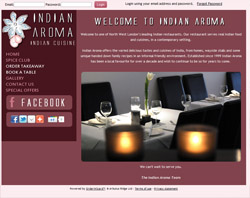 Indian Aroma Demo Site for Orderwizard