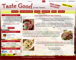 Taste Good Demo Site for Orderwizard