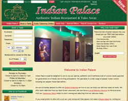 Indian Palace Demo Site for Orderwizard