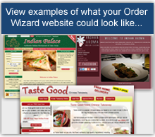 View Demonstration Websites for Restaurant Marketing